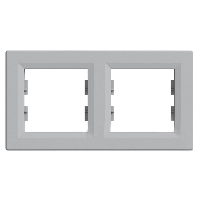 Рамка двойная Schneider electric Asfora (Шнайдер Асфора)