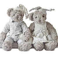 34см плюшевый медведь фаршированные животные Джесси и Майкл пара мультфильм плюшевые игрушки милый медведь Кукла для детей Baby Christmas Birthday