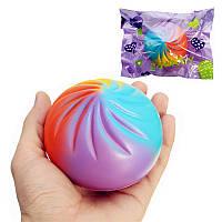 Squishy Rainbow Bun Random Color 8.5cm Soft Медленный рост с коллекцией подарков