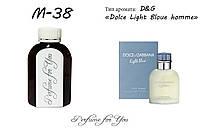 Мужские наливные духи Light Blue pour homme Dolce&Gabbana