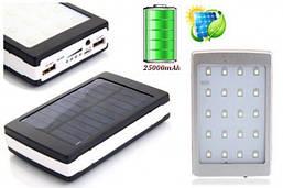 Внешний аккумулятор Solar Power Bank 25000mAh