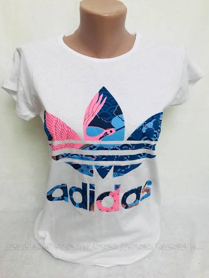 Брендовая женская футболка отличного качества
