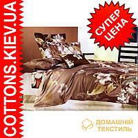 Комплект семейного постельного белья с мако-сатина Вьюнок