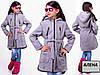Детское кашемировое пальто на девочку от производителя, фото 2
