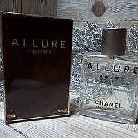 Chanel Allure Homme Eau De Toilette Vaporisateur Spray 100ml.