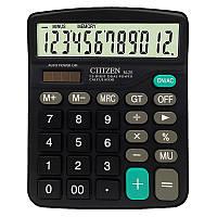 CTTTZEN 12-разрядный калькулятор Солнечная Батарея Светлый привод с двойным приводом Офис Школа Оборудование