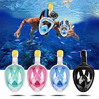 Подводная маска, маска для снорклинга Easybreath
