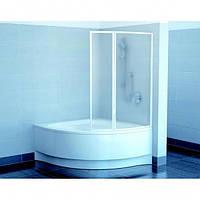 Шторки для ванны Ravak VSK2-140 Gentiana, NewDay 7CLM010041 белый 1400х1500 мм