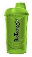 Шейкер Biotech Wave (зелёный ) 600 мл
