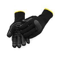 МногофункциональныйАнтиВибрацияПерчаткиАнтиУдарная ударопрочная рабочая Перчатки Для бурения шахтного угля Fis