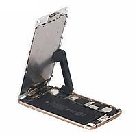 2шт Регулируемый телефон Stand Holder LCD Крепление экрана Зажим Клипы для iPhone 8 7 6s 6 Plus Ремонтные работы Набор
