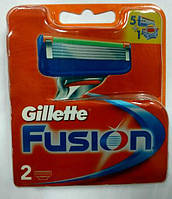 Gillette Fusion сменные картриджи 2 шт в упаковке