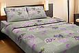 Постельное белье Lotus Ranforce Tendresse лиловое двухспального размера, фото 2