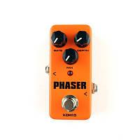 KOKKO FPH2 MINI Винтаж Педаль эффектов гитары Phaser с истинным байпасом
