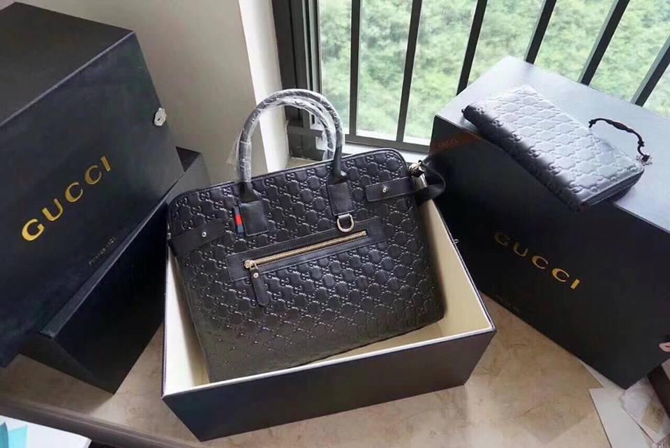 Гуччи сумка портфель мужская