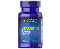 Puritan's Pride L-Carnitine 500 mg 60 caps