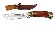 Нож охотничий 2225 ADWP (красное дерево) (нескладной нож для охоты) MHR /84-02