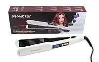 Профессиональный Утюжок гофре с регулятором температуры для волос Pro Mozer MZ 7050A