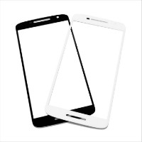Стекло экрана Motorola XT1540 Moto X Play чёрное