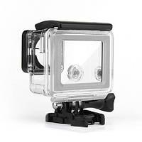 Замена Водонепроницаемы Сенсорный экран Backdoor Чехол Обложка для GoPro Hero 4 Silver Edition Действие Спорт камера