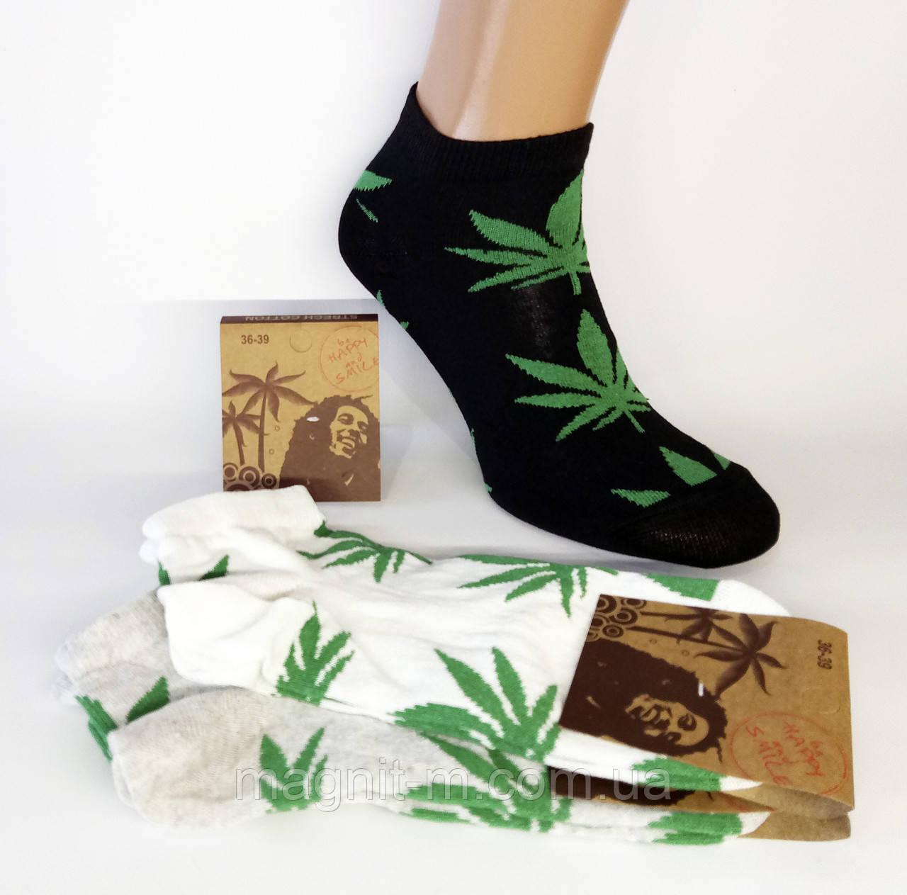 Шкарпетки жіночі укорочені. Конопля.