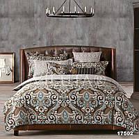 Двуспальный комплект постельного белья VILUTA ранфорс-платинум 17502