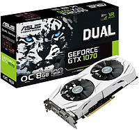 Видеокарта ASUS Nvidia Geforce GTX 1070 Dual 8Gb