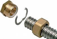 Набор резьбовых соединений для гофрированных труб