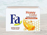 Мыло-крем FA Honey creme Golden Iris Scent (ирисовый аромат)