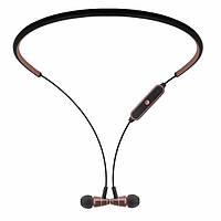 Стерео Блютуз (Bluetooth 4.1) наушник JAKCOMBER STN-780 ( Коричневый ) без лишних проводов с микрофоном