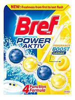 Гигиенический блок для унитаза Bref power aktiv Lemon 50 г
