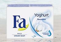 Туалетное крем-мыло FA йогурт sensitive 90 г
