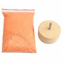 8Oz 230 г Полиоксидный полировочный порошок с 2 дюймов Полировальное колесо для шлифования