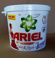 Стиральный порошок для цветных тканей Ariel & Lenor color 6 кг