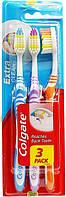 Зубная щетка Colgate Extra Clean упаковка 3 шт