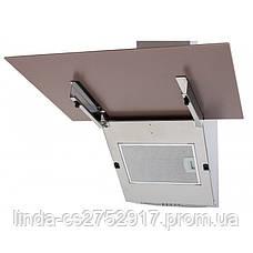 Кухонная вытяжка MIRROR 60 SAND (750) PB VentoLux, наклонная кухонная вытяжка, фото 2