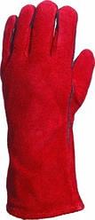 Перчатки кожаные  CA515R, красный цвет, размер 10