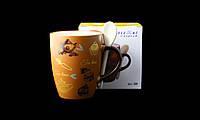 """Подарочная Чашка С Ложкой """" Tea Time"""" 350мл, фото 1"""