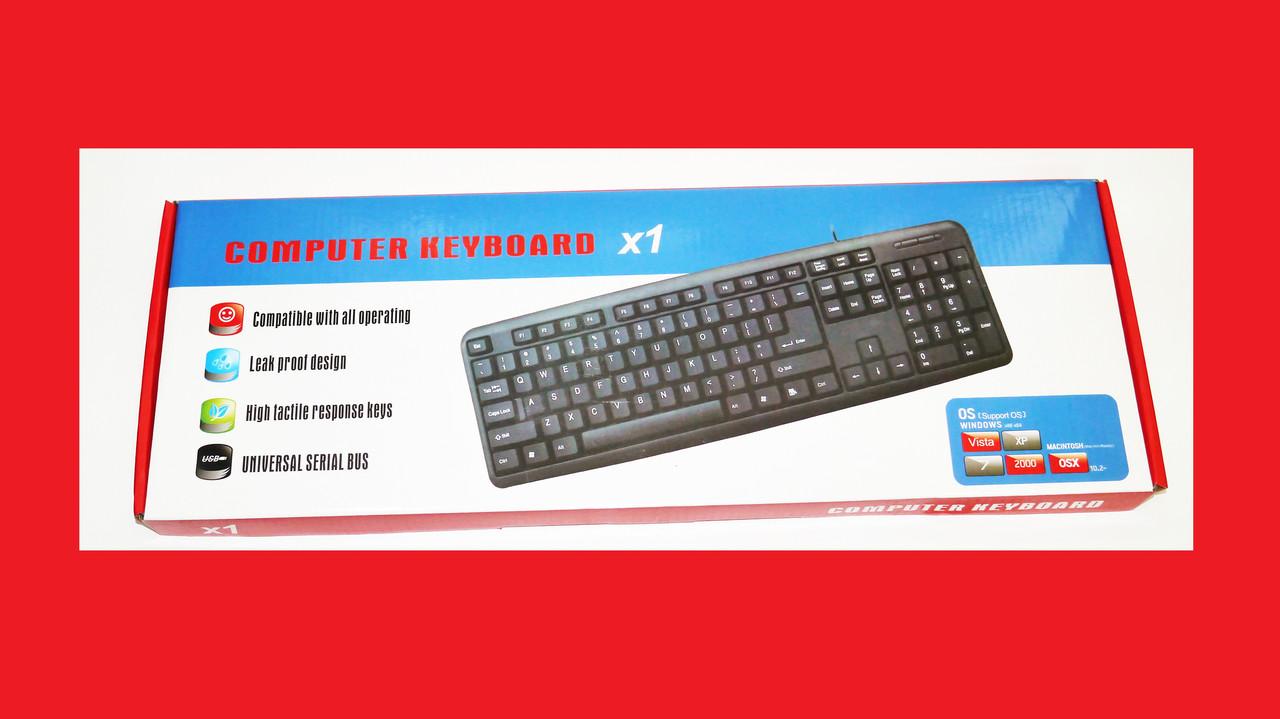 Клавиатура KEYBOARD X1 K107 USB