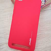 Силиконовый чехол на Xiaomi redmi 5A Red Smtt