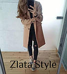 Женское кашемировое пальто на подкладке, фото 2
