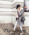 Женское кашемировое пальто на подкладке, фото 6