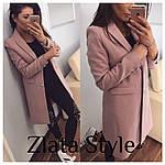 Женское кашемировое пальто на подкладке, фото 3