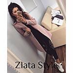 Женское кашемировое пальто на подкладке, фото 4
