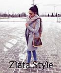 Женское кашемировое пальто на подкладке, фото 7