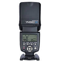 YONGNUO YN560 IV Универсальная беспроводная ведомая вспышка Speedlite для DSLR камера Nikon Pentax