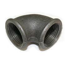 Колено (угольник) чугунное ду 32 в/в