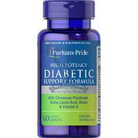 Diabetic Support Formula витамины и минералы при сахарном диабете профилактика сахарного диабета