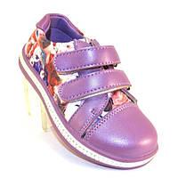 Детские туфли на липучке