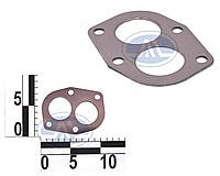 Прокладка приемной трубы глушителя (фланец) ВАЗ 2101,2108 обложенная (пр-во БЦМ 21010-1203020-01 О)